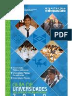 Guia de Universidades Del Estado Plurinacional 2010
