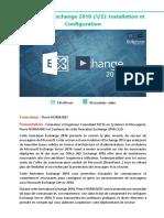 Alphorm Fiche Formation Exchange 2016 Installation Et Configuration