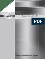 814180-G-ESP - Detector de Metales IQ3