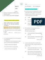 Discrete Random Variables & Binomial Probability Review