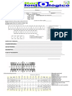 Historia clinica  consultorio privado en odontologia