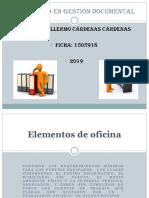 Elementos de Oficina y Puesto de Trabajo
