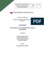 derecho  Procesal Administrativo Imprimir