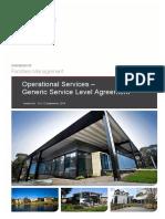 Maintenance Service Level Agreement Template