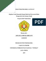 LAPORAN PKL PT. PERTAMINA (PERSERO) RU VI BALONGAN