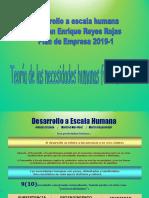 Copia de Desarrollo a Escala Humana PPT