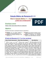 11. ¡Libres de Condenación! [Rom 8.1-11] F