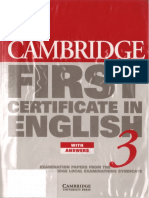 Cambridge First Certificate in English - Student's Book With Answers ( PDFDrive.com )
