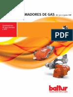 Quemadores Baltur Gas