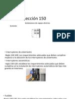 Sección 150