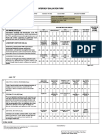 Annex 3B Interview and Evaluation Form (SPO2-SPO4)A4