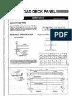 Road Deck Panel