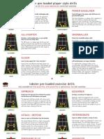 LOBSTER Tennis Drill Descriptions