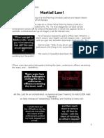 Darren Huff-martial Law (Almost)