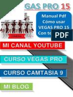 Manual PDF Sony Vegas Pro 15 Gratis-tutorial Como Usar Las Herramientas de Edicicion Con Comandos de Teclado. #5
