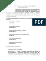 Metodología de Trabajo Para La Construcción de Pavimento Rígido