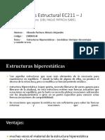 Análisis Estructural EC211 – J