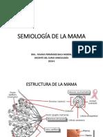 Semiología de La Mama