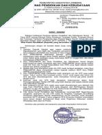 1. Surat Edaran Mekanisme Pembayaran TPG Semester 2 TA 2019