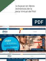 Cómo Buscar en Libros Electrónicos de La Biblioteca Virtual Del Poli-4