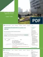 DLSU Application PDF