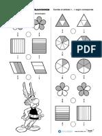 guia 4° comparación de fracciones