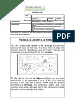 EVALUACIÓN DE CUENTOS Y FABULA