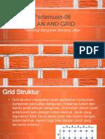 Sesi 6 Struktur Plan and Grid