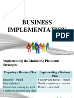 Business Implementation 1