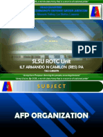 Afp Organization Final