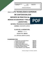 Proceso de Separacion II Reporte de Practica 1