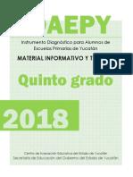 Examen 2018 información idaepy