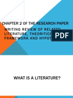 review of related literature for practical research