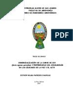 comercialización de La Carne de Cuy y Preferencias en Bolivia