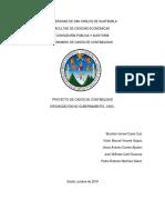 Nomenclatura o Catalogo de Cuentas Ong