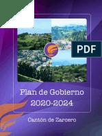 Plan Gobierno MZ 2020-2024