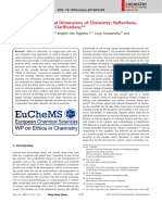 Ethical Social Dimensions Chemistry