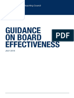 Guidance on Board Effectiveness (FRC 2018)