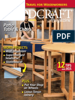 Woodcraft Magazine - Issue #071 - June.july 2016 - Patio Table & Chairs