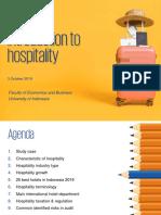 5 Hospitality UI Presentation