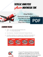 AVB Porter's 5 Forces PT Air Asia Indonesia