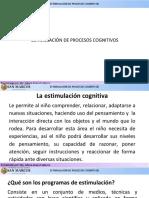 Presentación Estimulación de Procesos Cognitivos