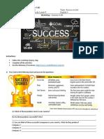 Success in Life Workshop L4