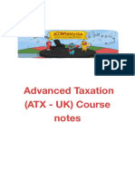 Acca Atx Course Notes Ty 2018