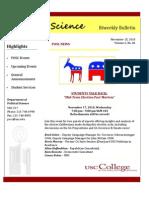 POSC Biweekly Bulletin November 15 2010