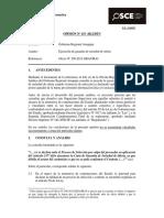 Opinión OSCE 115-12-2012 - Ejecución de Garantía de Seriedad de Oferta