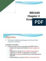 Chapter 7 - Economics
