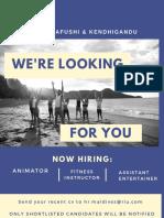 Job Advert 14102019