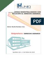 Org Descentraloizadas Agrario 2 HM