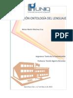 Opinión Ontologia Del Lenguaje HM